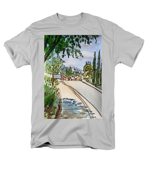 Empty Road Sketchbook Project Down My Street T-Shirt by Irina Sztukowski