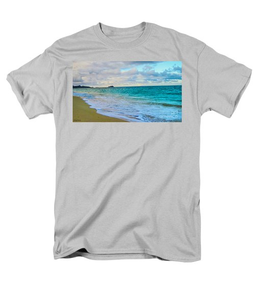 Evening on the Beach T-Shirt by Cheryl Young