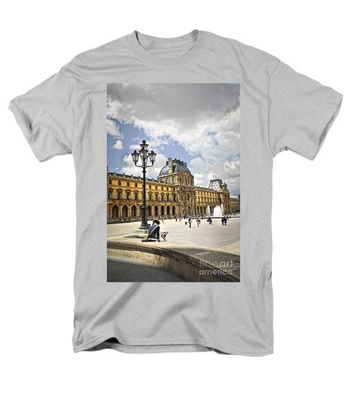 Louvre museum T-Shirt by Elena Elisseeva