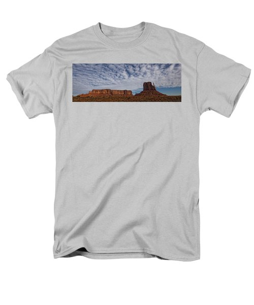 Morning Clouds Over Monument Valley T-Shirt by Robert Postma