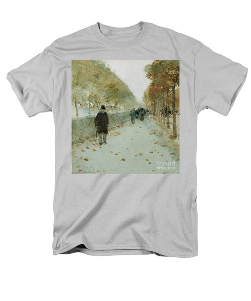 Quai Du Louvre Men's T-Shirt  (Regular Fit) by Childe Hassam
