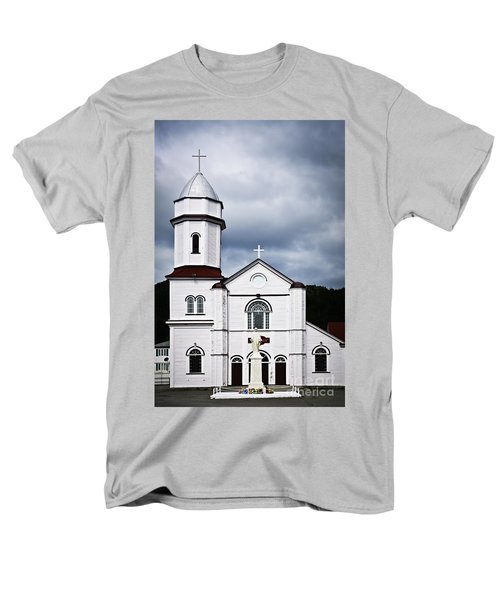 Sacred Heart Church in Placentia Newfoundland T-Shirt by Elena Elisseeva