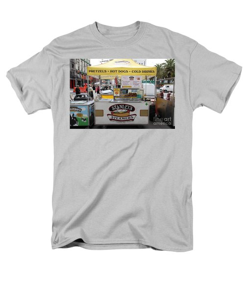 San Francisco - Stanley's Steamers Hot Dog Stand - 5D17929 T-Shirt by Wingsdomain Art and Photography