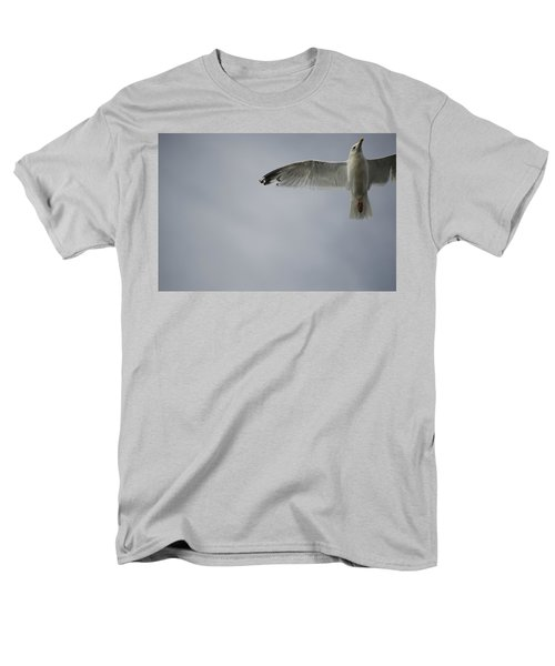 Seagull T-Shirt by Keith Levit