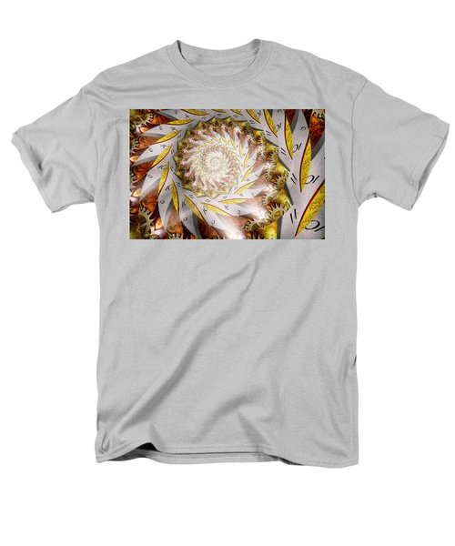 Steampunk - Spiral - Time Iris T-Shirt by Mike Savad