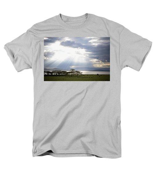 Sunlight Shines Down Through The Clouds T-Shirt by David DuChemin