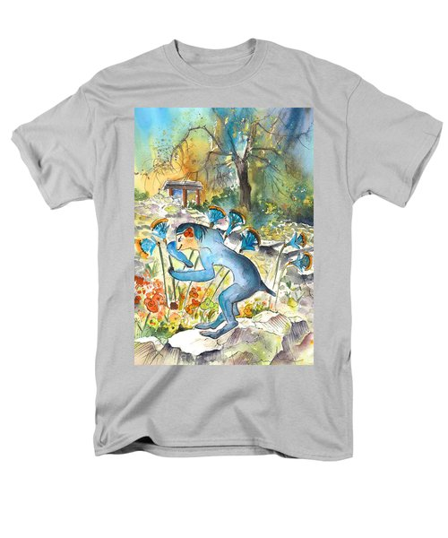 The Minotaur In Knossos Men's T-Shirt  (Regular Fit) by Miki De Goodaboom
