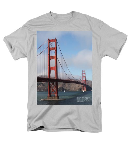 The San Francisco Golden Gate Bridge - 5D18906 T-Shirt by Wingsdomain Art and Photography
