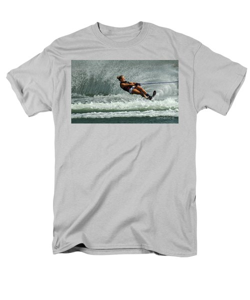 Water Skiing Magic Of Water 2 T-Shirt by Bob Christopher