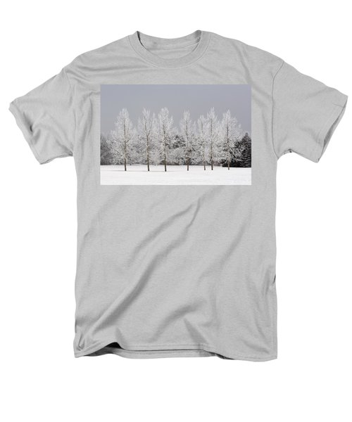 Winter, Calgary, Alberta, Canada T-Shirt by Michael Interisano