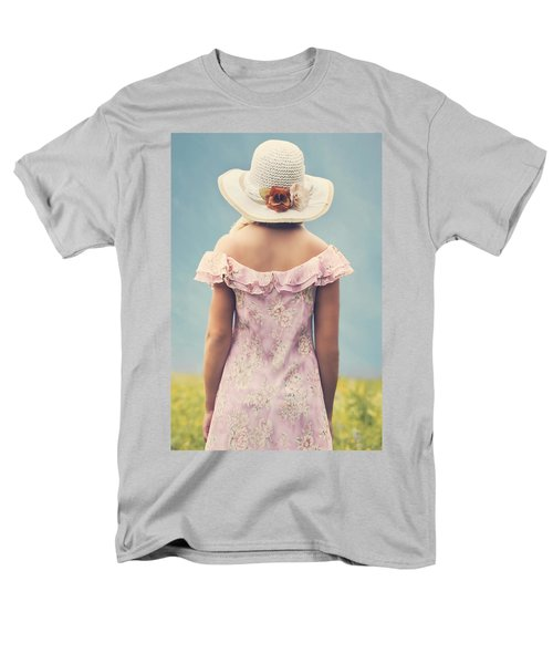 woman with hat T-Shirt by Joana Kruse