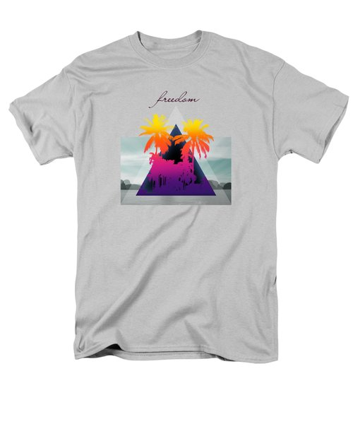 Freedom  Men's T-Shirt  (Regular Fit) by Mark Ashkenazi