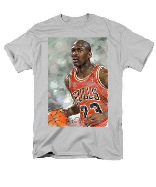 Michael Jordan T-Shirt by Ylli Haruni
