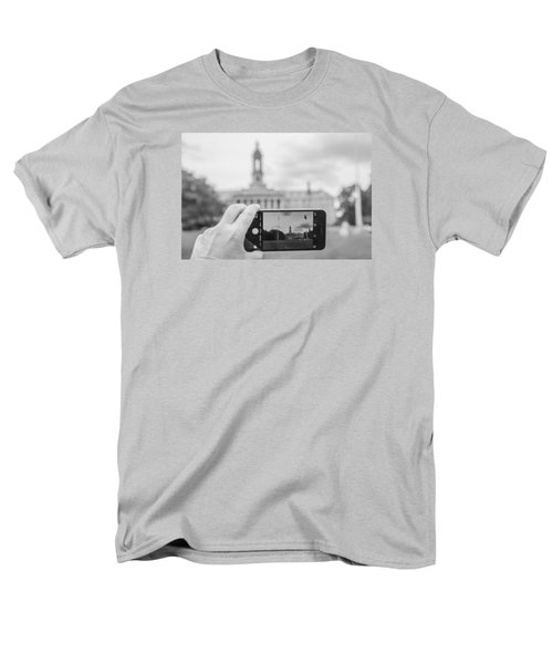 Old Main Penn State  Men's T-Shirt  (Regular Fit) by John McGraw