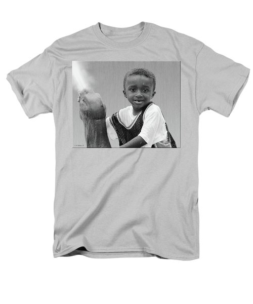 Philly Fountain Kid T-Shirt by Brian Wallace