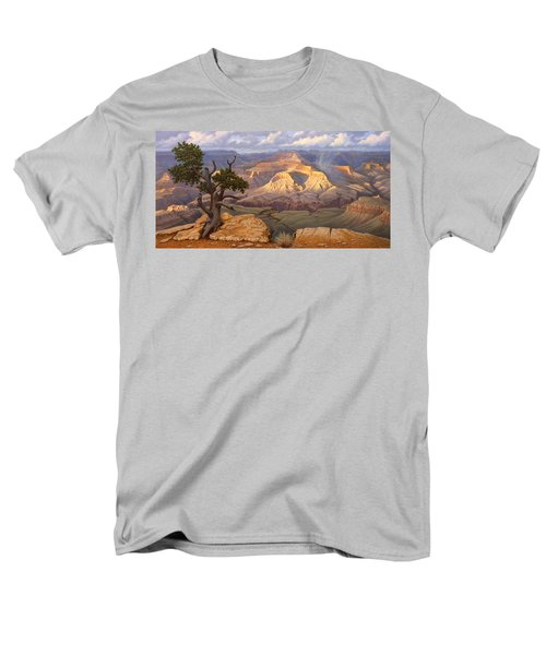Zoroaster Temple From Yaki Point Men's T-Shirt  (Regular Fit) by Paul Krapf