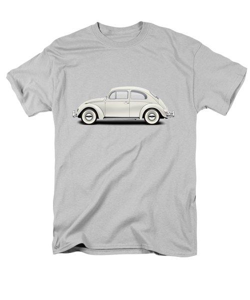 1961 Volkswagen Deluxe Sedan - Pearl White Men's T-Shirt  (Regular Fit) by Ed Jackson