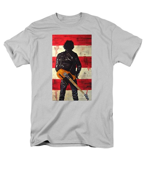 Bruce Springsteen Men's T-Shirt  (Regular Fit) by Francesca Agostini