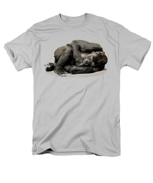 Gorilla Men's T-Shirt  (Regular Fit) by FL collection
