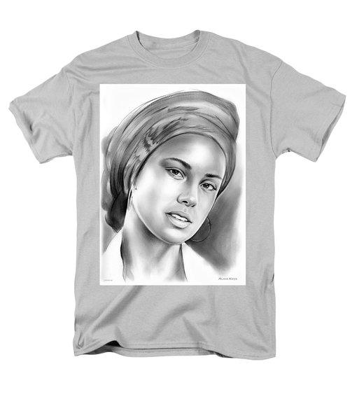 Alicia Keys Men's T-Shirt  (Regular Fit) by Greg Joens