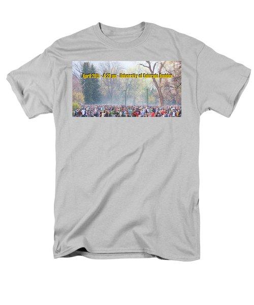 April 20th - University of Colorado Boulder T-Shirt by James BO  Insogna