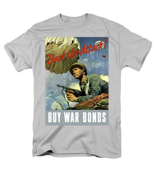 Back The Attack Buy War Bonds T-Shirt by War Is Hell Store