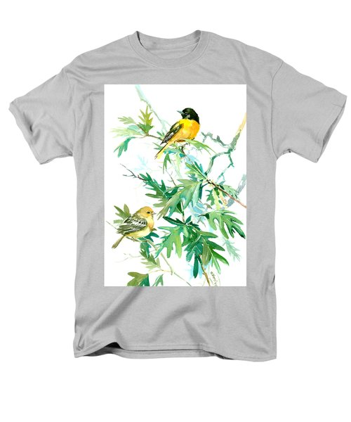 Baltimore Orioles And Oak Tree Men's T-Shirt  (Regular Fit) by Suren Nersisyan