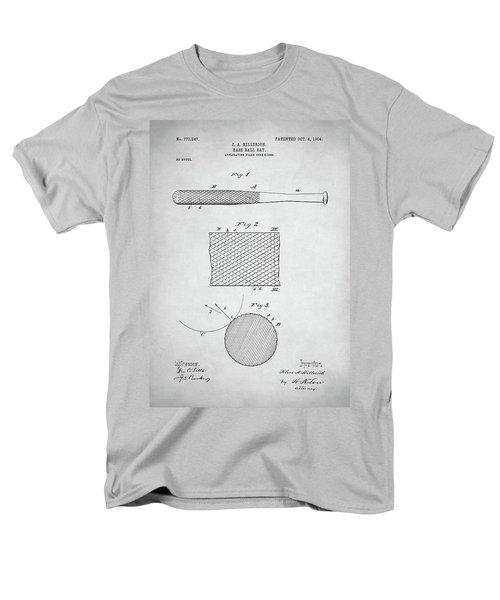 Baseball Bat Patent Men's T-Shirt  (Regular Fit) by Taylan Apukovska