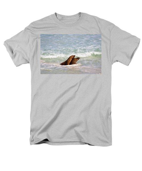 Battle for the Beach T-Shirt by Mike  Dawson