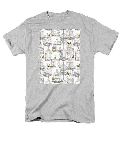 Birdcages Men's T-Shirt  (Regular Fit) by Stephanie Davies