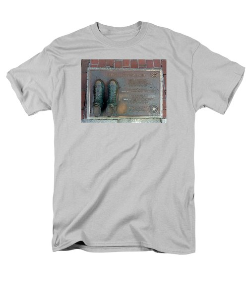 Boston Celtics Larry Bird Men's T-Shirt  (Regular Fit) by Gina Sullivan