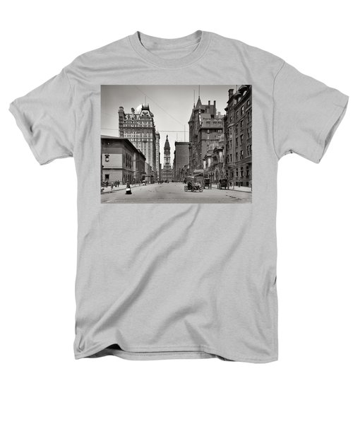Broad Street Philadelphia 1905 T-Shirt by Bill Cannon