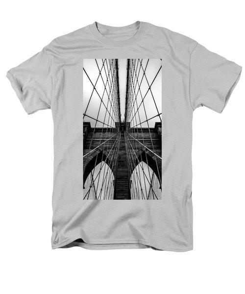Brooklyn's Web Men's T-Shirt  (Regular Fit) by Az Jackson