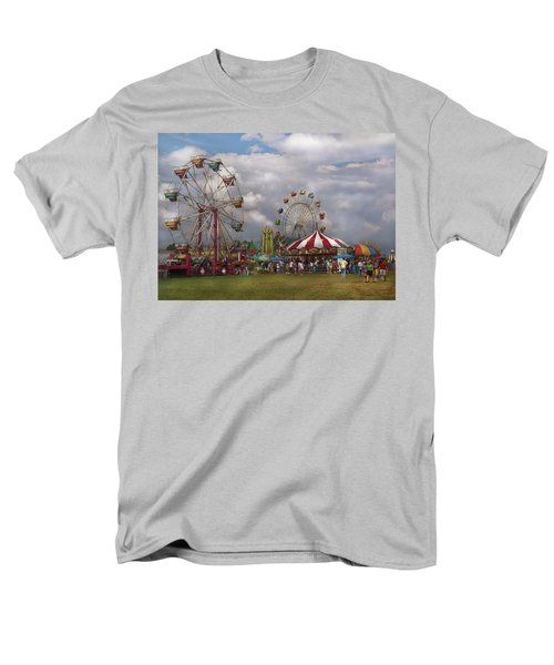 Carnival - Traveling Carnival T-Shirt by Mike Savad