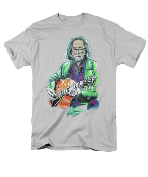 Eric Clapton Men's T-Shirt  (Regular Fit) by Melanie D