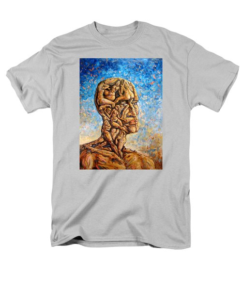 Fantasies of a 120 years old man struggling to survive T-Shirt by Darwin Leon