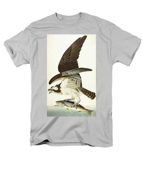 Fish Hawk Men's T-Shirt  (Regular Fit) by John James Audubon
