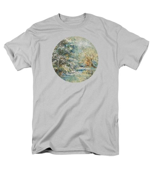 In The Snowy Silence Men's T-Shirt  (Regular Fit) by Mary Wolf