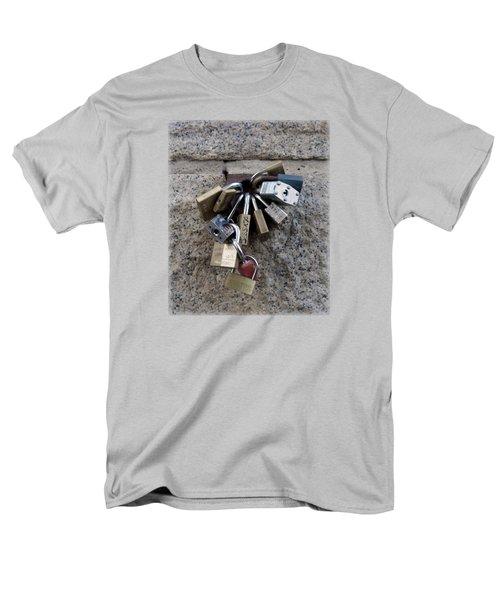 Locked Men's T-Shirt  (Regular Fit) by Sinder Singh