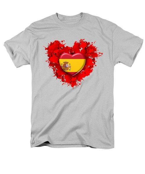 Love Spain 1 Men's T-Shirt  (Regular Fit) by Alberto RuiZ