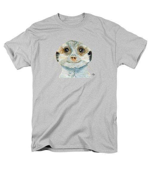 Meerkat Men's T-Shirt  (Regular Fit) by Angeles M Pomata
