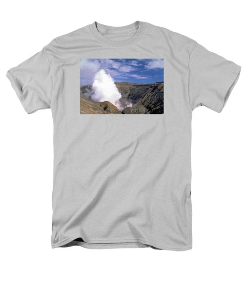 Men's T-Shirt  (Regular Fit) featuring the photograph Mount Aso by Travel Pics