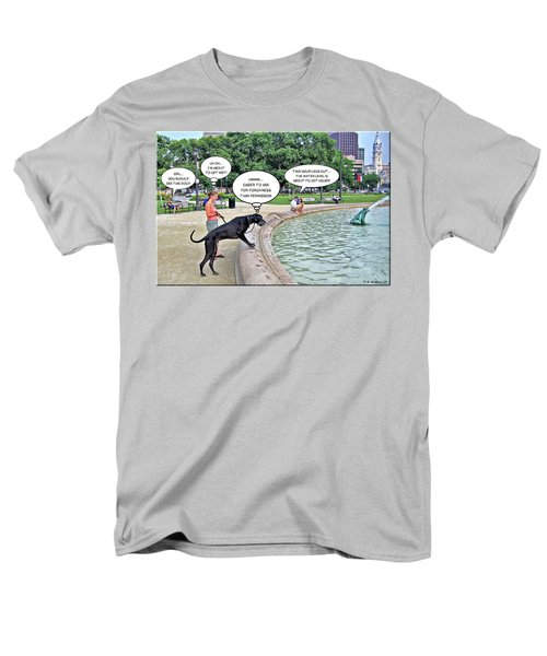 My Dog Tiny T-Shirt by Brian Wallace