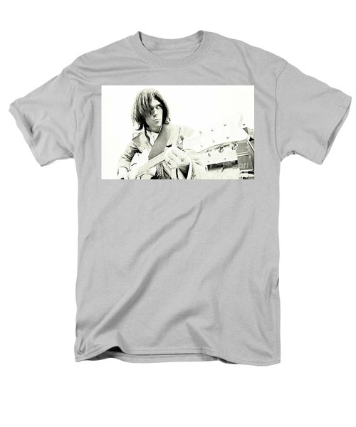 Neil Young Watercolor Men's T-Shirt  (Regular Fit) by John Malone