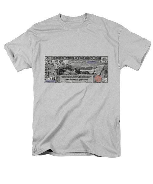 One Dollar Note - 1896 Educational Series  Men's T-Shirt  (Regular Fit) by Serge Averbukh