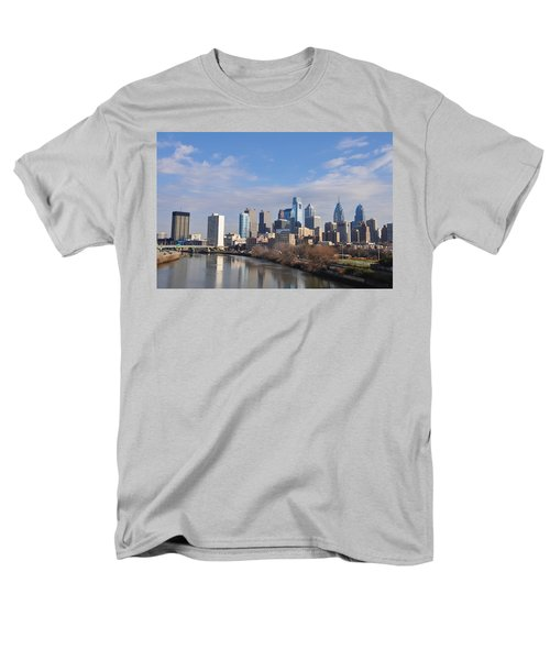 Philadelphia from the South Street Bridge T-Shirt by Bill Cannon