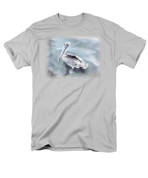 Radiant Pelican Men's T-Shirt  (Regular Fit) by Korrine Holt