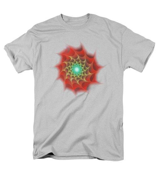 Red Web Men's T-Shirt  (Regular Fit) by Anastasiya Malakhova