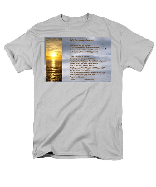 The Serenity Prayer T-Shirt by Barbara Snyder
