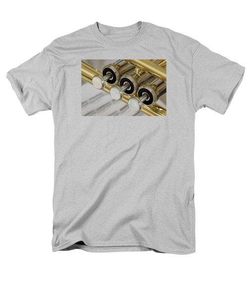 Trumpet Valves T-Shirt by Frank Tschakert
